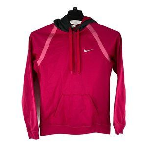 Nike Therma-Fit Womens Size XS Pink Full Zip Logo
